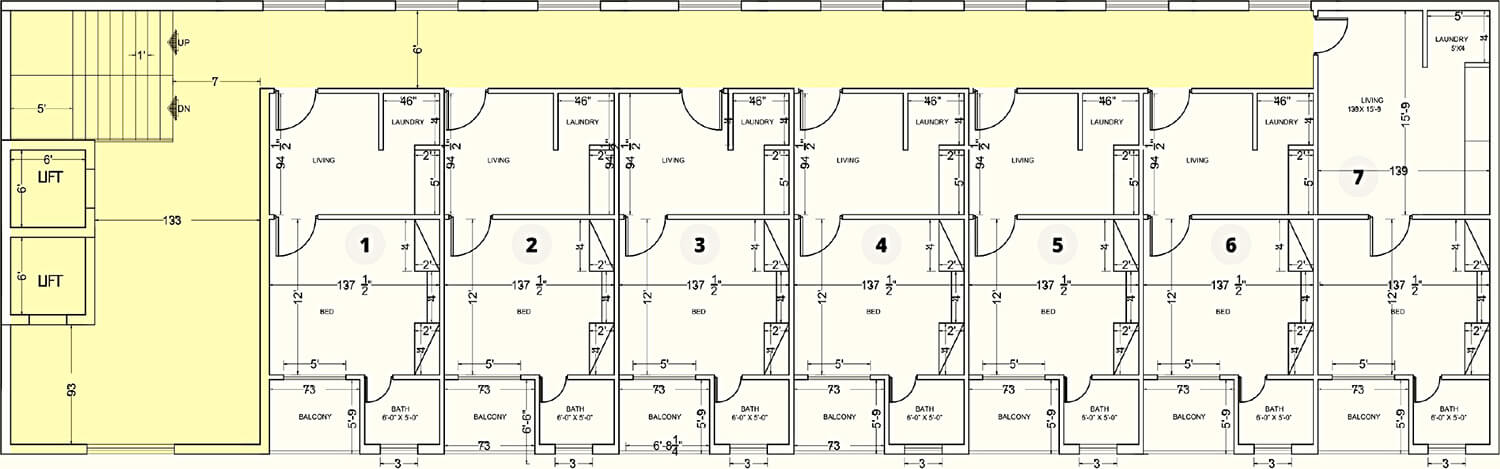 Apartments Floor Plan